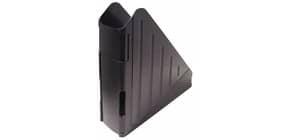 Portariviste ARDA Classic polistirolo antiurto nero opaco 7,5x27x29,5 cm 4118N Immagine del prodotto