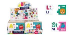 Minipuzzle A,B,C ABC Spass TRENDHAUS 951090 70-tlg. Produktbild