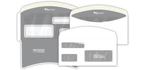 Buste con 3 finestre Pigna Envelopes FLY Matic 3 80 g/m² 115x230 mm bianco conf. 1000 - 0224303 Immagine del prodotto