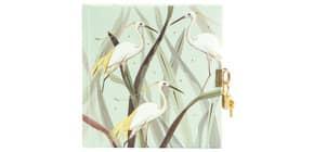 Tagebuch m.Schloss Wild Life Heron Produktbild