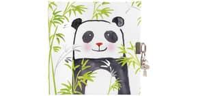 Tagebuch  m.Schloss Panda Produktbild
