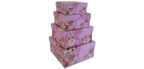 Geschenkkarton Blume sort. Produktbild