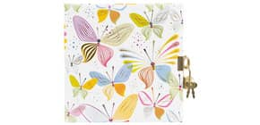 Tagebuch m.Schloss Virtual Butterflies Produktbild