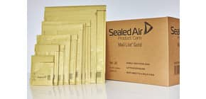 Buste imbottite Mail Lite® Gold CD 18x16 cm avana minipack 10 pz. - 103008648 Immagine del prodotto