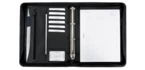 Schreibmappen Set schwarz Produktbild