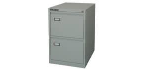 Classificatore per cartelle sospese KUBO 2 cassetti 46x62x70 cm grigio 4002 Immagine del prodotto
