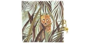 Tagebuch m.Schloss Wild Life Leopard Produktbild