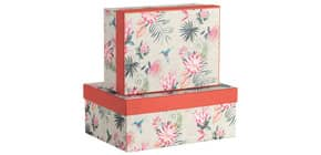 Geschenkkarton Antigua ruby RÖSSLER 13491400200 2tlg Produktbild
