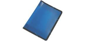 Fächertasche translu blau 13 teilig Q-CONNECT KF02479 Produktbild