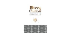 D.T.Weihnachtskarten englisch 22-1209   Bild Produktbild