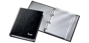 Telefonbuch A5 4R schwarz Produktbild
