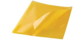 Hefthülle quart PP gelb Produktbild