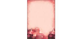 Weihn.Design Papier 100BL RedCandlelight Produktbild