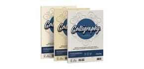 Carta pergamena FAVINI Calligraphy per lettere da stampare, finitura liscia 190 g/m² A4 sabbia 02  50 fogli - A69U084 Immagine del prodotto