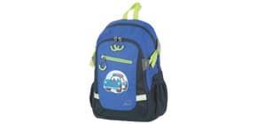 Kinderrucksack Police dunkelblau Produktbild