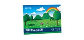 Album da disegno FAVINI PRISMACOLOR in cartoncino monoruvido 5 colori assortiti 128 g/m² 24x33cm - A12X244 Immagine del prodotto