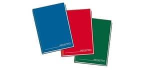 Registro cartonato Blasetti con cucitura filo refe e copertina cartonata, 1R 70 g/m² A4 48  conf.1/12 - 1334 Immagine del prodotto