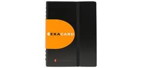 Visitenkartenbuch Exactive schwarz/weiß Produktbild