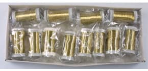 Basteldraht gold 200m 0.25mm 60730 Produktbild