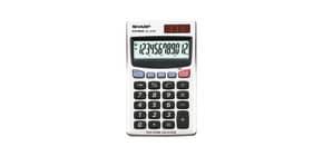 Calcolatrice tascabile a doppia alimentazione SHARP con display a 12 cifre argento - EL 379 SB Immagine del prodotto