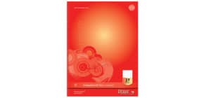 Collegeblock A4 80BL LIN27 URSUS 040830027 Competence 90g Produktbild