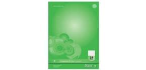 Collegeblock A4 80BL LIN28 URSUS 040830028 Competence 90g Produktbild