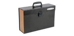 Fächertasche A4 19Fäch. Schwarz Produktbild