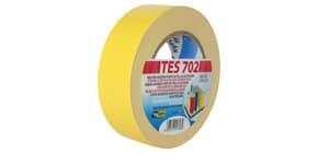 Nastro adesivo in tela Tes 702 SYROM formato 38 mm x 25 m - materiale tela plastificata giallo - 1743 Immagine del prodotto