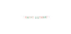 Partykette Geburtstag HELLO PETS 9906546 180cm  Produktbild