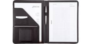 Schreibmappe A4 schwarz Produktbild