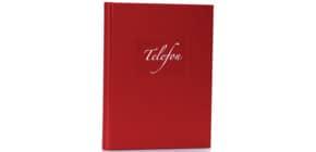 Telefonbuch mit Spirale rot Produktbild