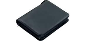 Ringbuchmappe A5/4Ring schwarz Produktbild