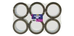 Nastro adesivo da imballo SYROM formato 50 mm x 66 m - materiale ppl avana conf. 6 pezzi - 3596 Immagine del prodotto
