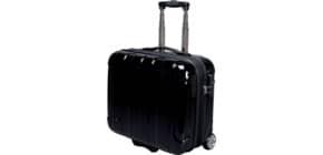 Trolley portadocumenti JSA in policarbonato 43x21x40 cm nero 45513 Immagine del prodotto