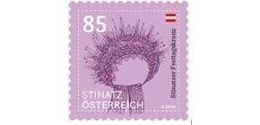 Briefmarke Österreich POST EURO 0,85  Produktbild