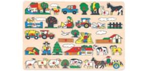 Puzzle Bauernhof Produktbild