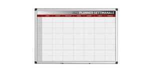 Planning Bi-office settimanale magnetico 90x60 cm bianco GA03266170 Immagine del prodotto