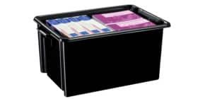 Ablagebox HW048R schwarz Produktbild