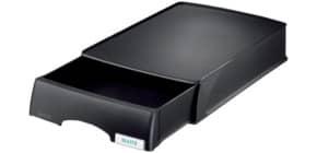 Briefablage +Schublade schwarz Produktbild