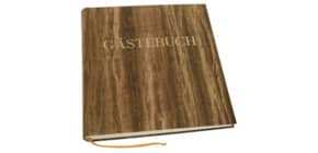 Gästebuch Papyrus braun Produktbild