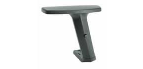 Coppia braccioli regolabili a T Unisit 2 D - nero - ACCBR2DR2 Immagine del prodotto