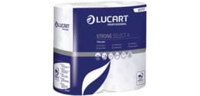 Toilettpapier 4-lagig 56RL weiß STRONG Select4 LUCART 811717 Produktbild
