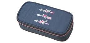Schüleretui Flower Arrow blue WALKER 49621/070   1-Stock Produktbild