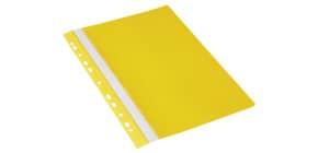 Schnellhefter PVC A4 gelb DONAU 1704001-11 Multiloch Produktbild