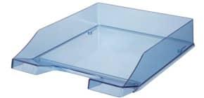 Vaschetta portacorrispondenza accatastabile KLASSIK A4/C4 HAN in polistirolo blu trasparente - 1026-X-26 Immagine del prodotto