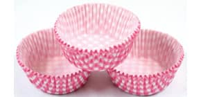 Gebäckkapsel zu 60 pink Produktbild