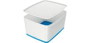 Ablagebox MyBox groß A4 weiß/blau ProduktbildEinzelbildM