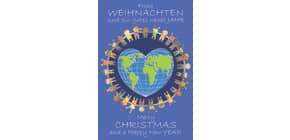 D.T.Weihnachtskarten mehrspr. 22-1212   Bild Produktbild