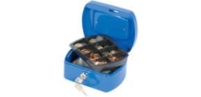 Geldkassette Gr.1 blau ProduktbildEinzelbildM