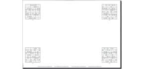 Schreibunterlagenblock Short Produktbild